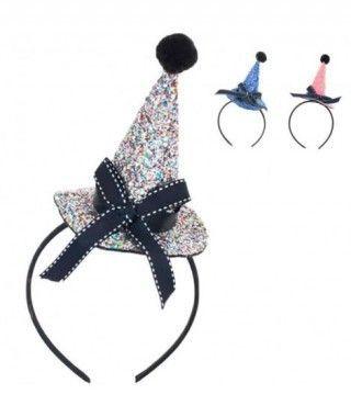 Diadema Sombrero Bruja Glitter