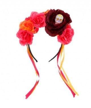 Diadema Flores Catrina