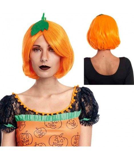 Peluca Calabaza Naranja