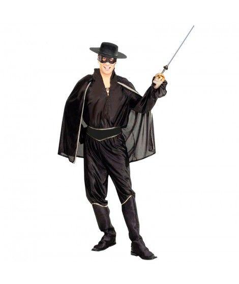 Disfraz El Zorro hombre para Carnaval