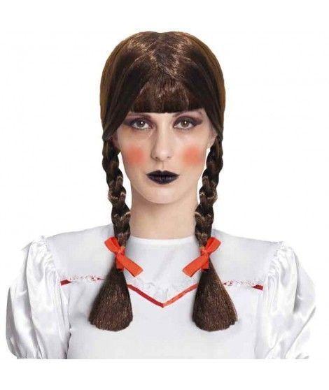 Peluca Muñeca Poseída Halloween