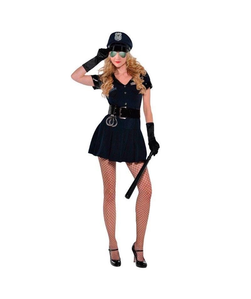 Disfraz polic a mujer para carnaval - Disfrazes para carnaval ...