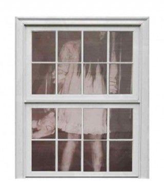 Cortina Decorativa Halloween Fantasma 180 x 75 cm
