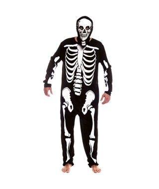 Disfraz Esqueleto Hombre Adulto Halloween