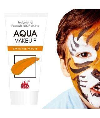 Maquillaje Naranja al Agua