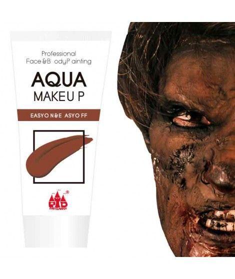 Maquillaje Marrón al Agua