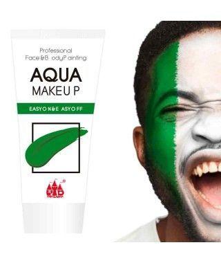 Maquillaje Verde al Agua