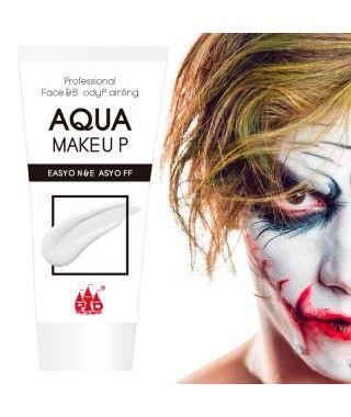 Maquillaje Blanco al Agua