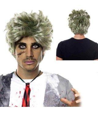 Peluca Zombie Hombre
