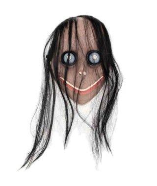 Máscara Momo Juego Muerte Plástico