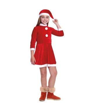 Disfraz Mamá Noel niña...