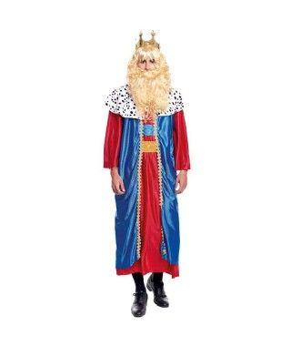 Disfraz Rey Mago Melchor hombre adulto para Navidad