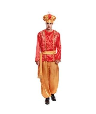 Disfraz Paje Rojo para hombre