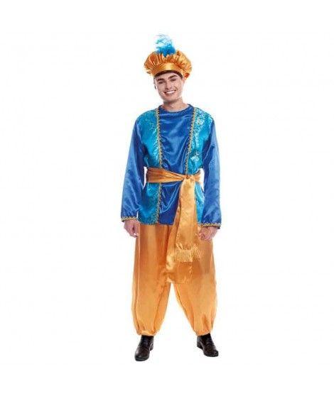 Disfraz Paje Azul para hombre