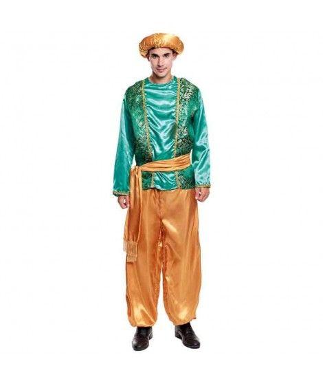 Disfraz Paje Verde para hombre