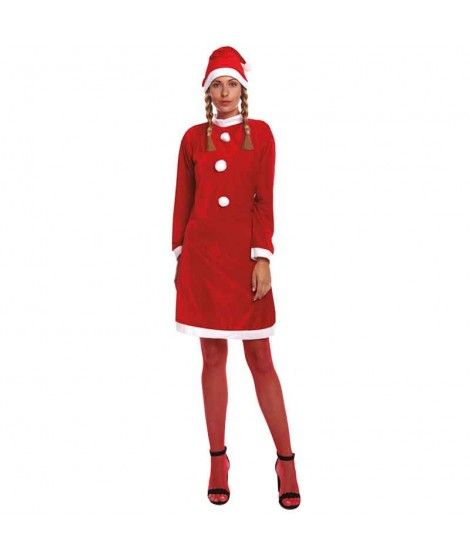 Disfraz Mamá Noel mujer adulto para Navidad