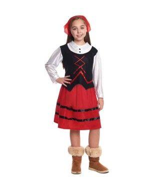 Disfraz de Pastora niña infantil para Navidad