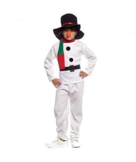 Disfraz Muñeco de nieve Infantil para Navidad