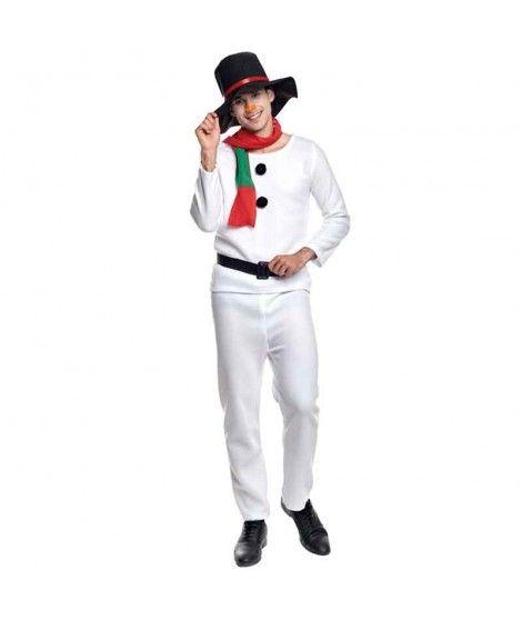 Disfraz Muñeco de Nieve adulto para Navidad
