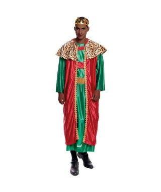 Disfraz Rey Mago Baltasar hombre adulto para Navidad
