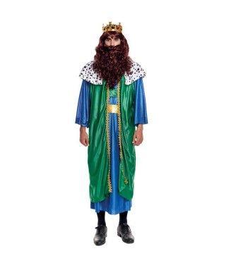 Disfraz Rey Mago Gaspar hombre adulto para Navidad