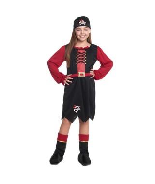 Disfraz Pirata niña infantil para Carnaval