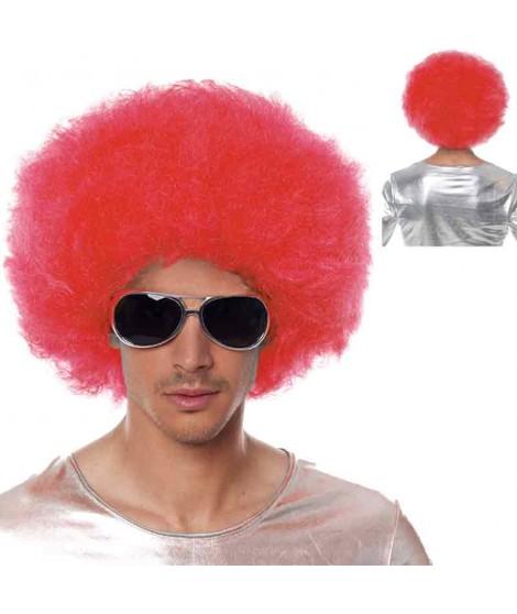 Peluca Afro Extragrande Roja...