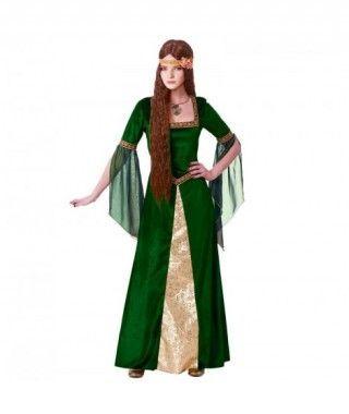 Disfraz Dama Medieval mujer adulto para Carnaval