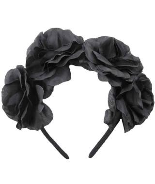 Diadema Rosas Negras