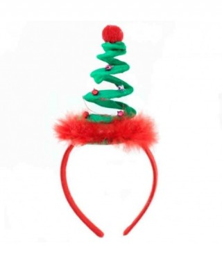 Diadema Árbol Navidad Espiral