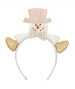 Diadema Snowman Botas White Xmas