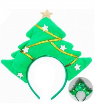 Diadema Árbol Navidad luz