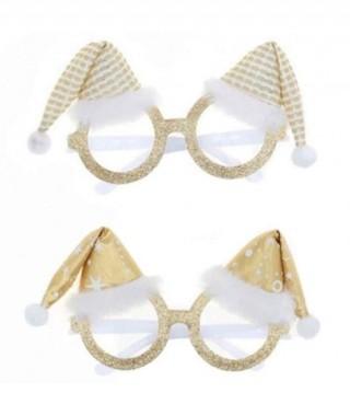 Gafas Navideñas White Xmas Gorritos