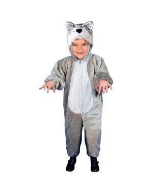 Disfraz Lobo infantil Pijama Kigurumi para Carnaval