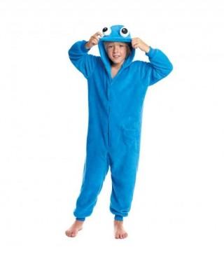Disfraz Pijama Monstruo Azul Infantil Unisex