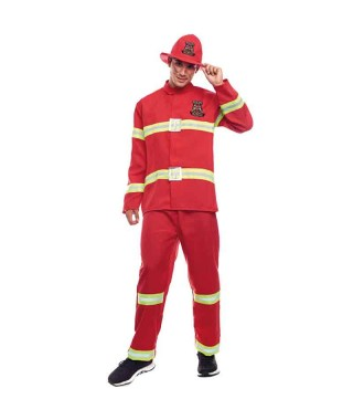 Disfraz Bombero hombre para Carnaval