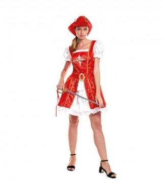 Disfraz Mosquetera Mujer