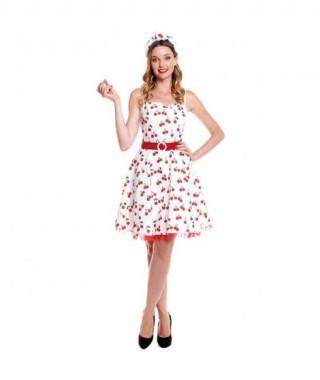 Disfraz Vestido 50's Cherry...