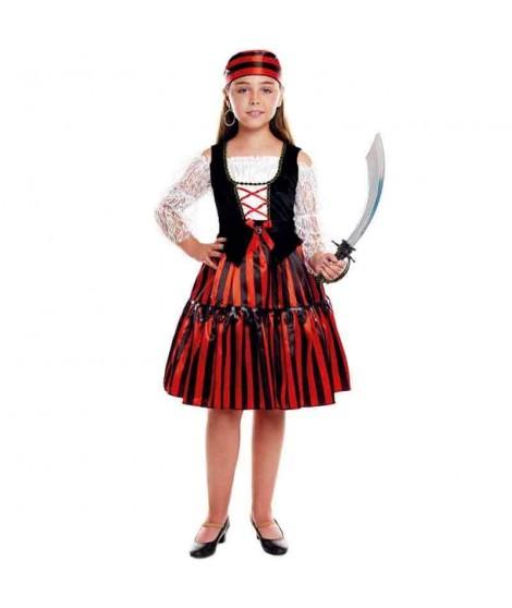 Disfraz Pirata Stripes Niña