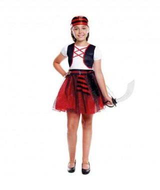 Disfraz Pirata Glitter Niña