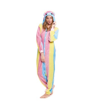 Disfraz Pijama Llama Colorines Adulto