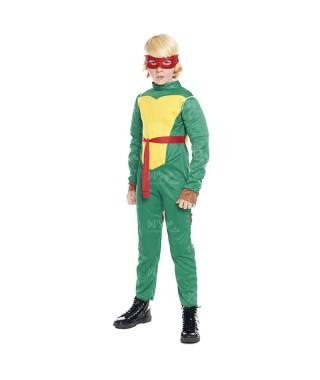 Disfraz Super Héroe Tortuga niño infantil
