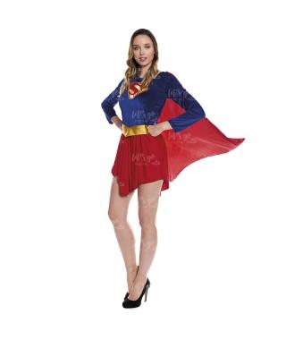 Disfraz Heroína Super Girl Mujer