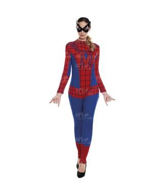 Disfraz Heroína Arácnida Mujer