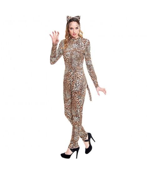 Disfraz Leopardo Sexy Mujer Mono Maillot
