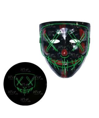 Máscara Asesino Purgador Luz