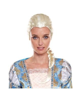 Peluca Princesa Hielo Rubia
