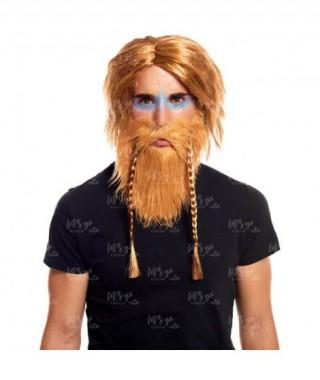 Barba Vikingo con Trenzas
