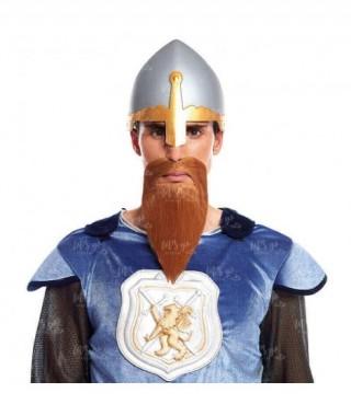 Barba Castaña Accesorio Disfraz