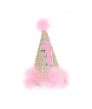 Gorrito Cumple 1 Año Rosa